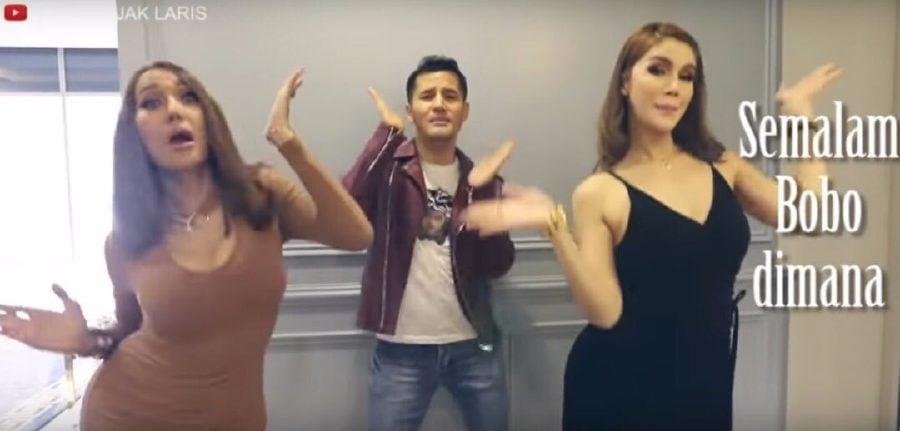 Showbiz: Netizens calling for Aliff Shukri's spicy 'Semalam