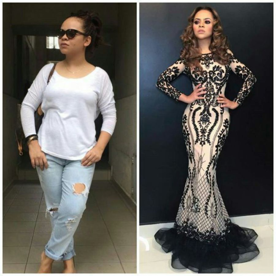 Sarah Raisuddin loses 30kg but denies surgery has anything to do