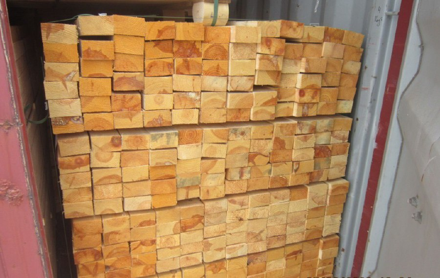 7 containers of Pine lumber seized in Penang Port