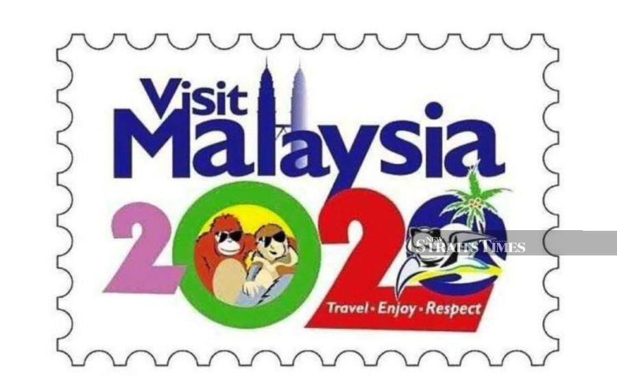 The previous logo for the Visit Malaysia Year 2020 campaign.