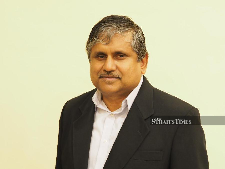 Associate Professor Dr. Hariharan N Krishnasamy. – NSTP/Vincent D'Silva