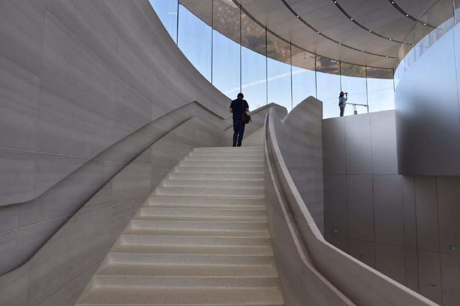 In Pictures The Futuristic Steve Jobs Theatre New