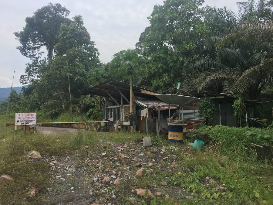 Photo shows the entry point of a coal mine in Sri Aman, Sarawak. The mine had stopped its operations after the miners, mostly from North Korea, had returned to their country. Pix by Adib Povera