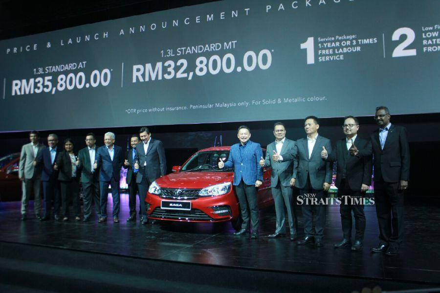 2019 Proton Saga Launched With New Features From Rm32 800