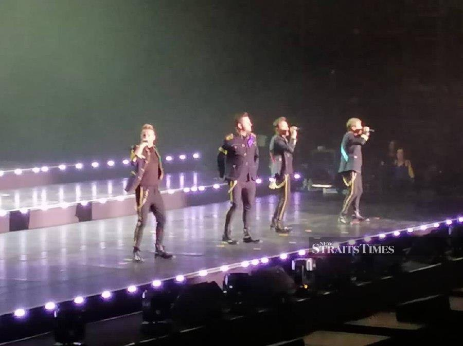 Showbiz: After 20 years, Westlife still wows fans | New