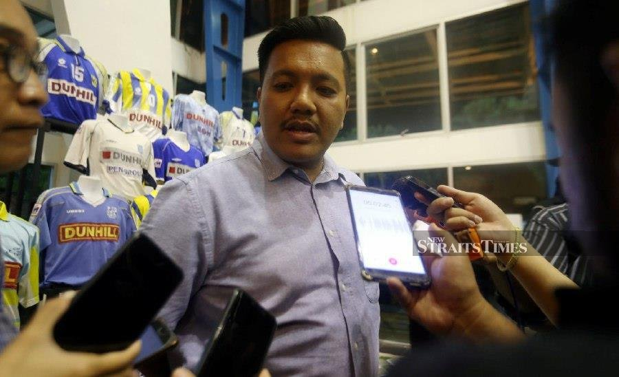 The Penang state executive councillor said he was not the only one in the party who had received the letter which was issued by the PKR disciplinary board. (NSTP/Danial Saad)