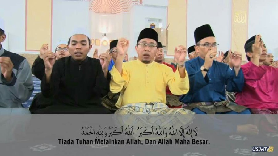 The International Islamic Science University (Usim) has formulated a novel way of helping the hearing impaired understand the 'Raya takbir' (Eid announcement/ prayer) – by coming up with a sign language version.