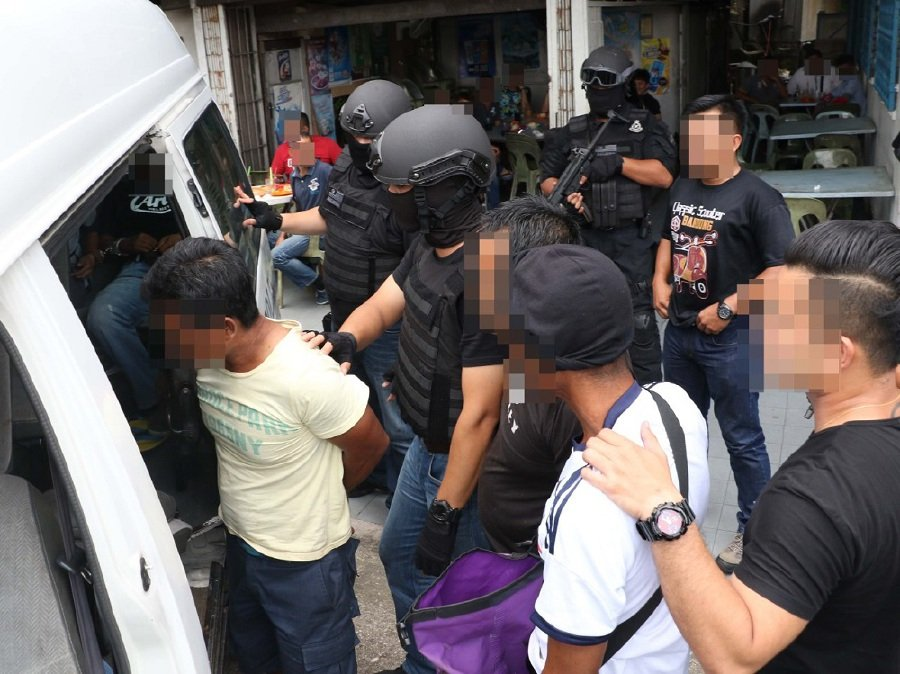 Foreign lecturer among eight nabbed in anti-terror swoops