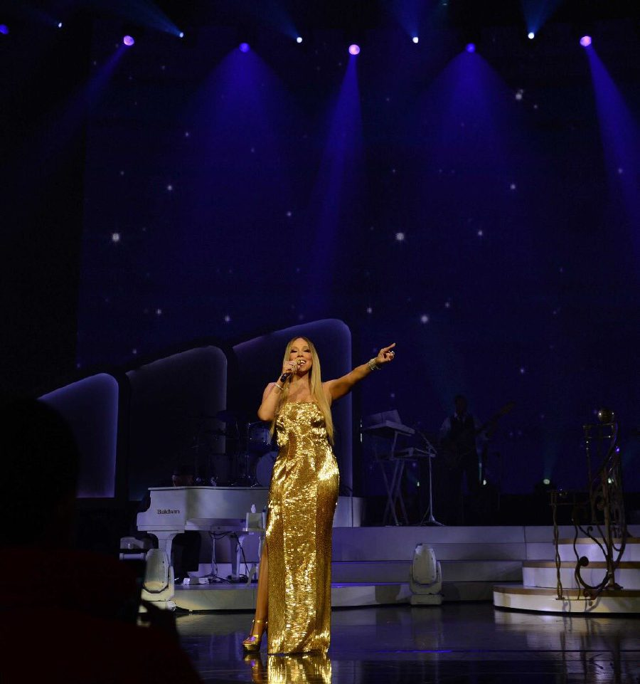 Mariah Carey will be coming back to Singapore