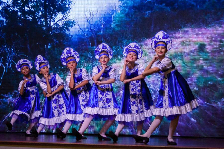 The Flowers dance performed by pupils of the Russian School at the 102nd Russian Armed Forces Day at the JW Marriott Hotel in Jalan Bukit Bintaing, Kuala Lumpur. -Pic courtesy of the Russian embassy