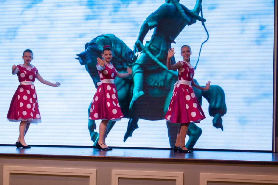 The Bariynya (madam) dance performed by pupils of the Russian School at the 102nd Russian Armed Forces Day at the JW Marriott Hotel in Jalan Bukit Bintaing, Kuala Lumpur. -Pic courtesy of the Russian embassy