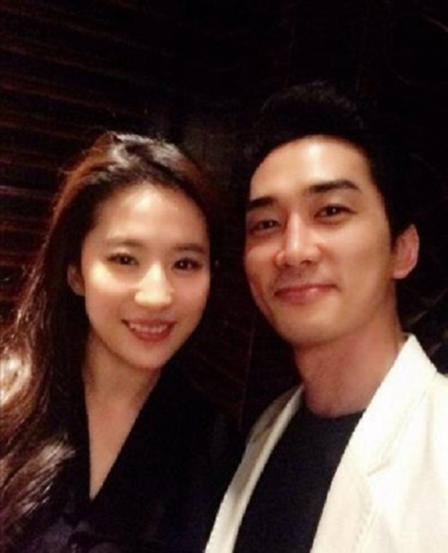 Showbiz Song Seung Hun And Liu Yifei Have Called It Quits New