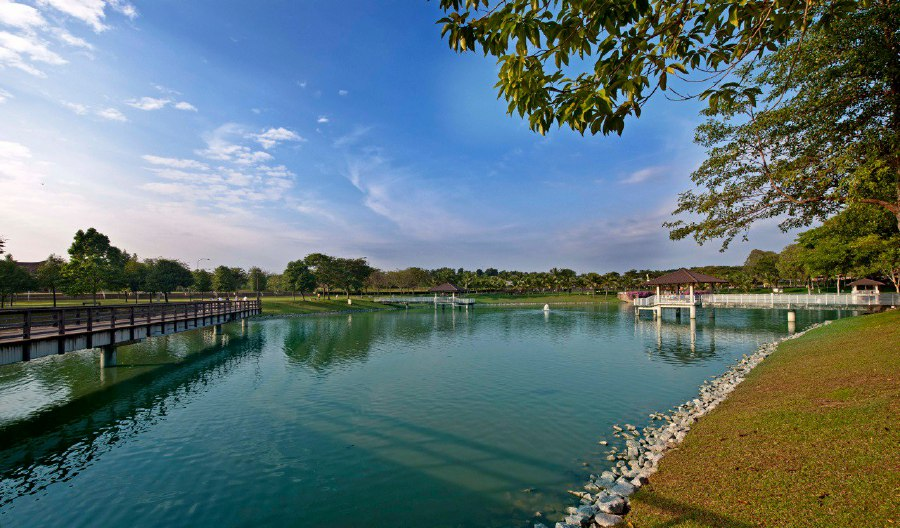 One of the reasons why Seremban 2 has become such a thriving township is the strategic implementation of city planning that leverages on space and incorporation of its vast green areas spread across the township. - Pix courtesy of IJM Land