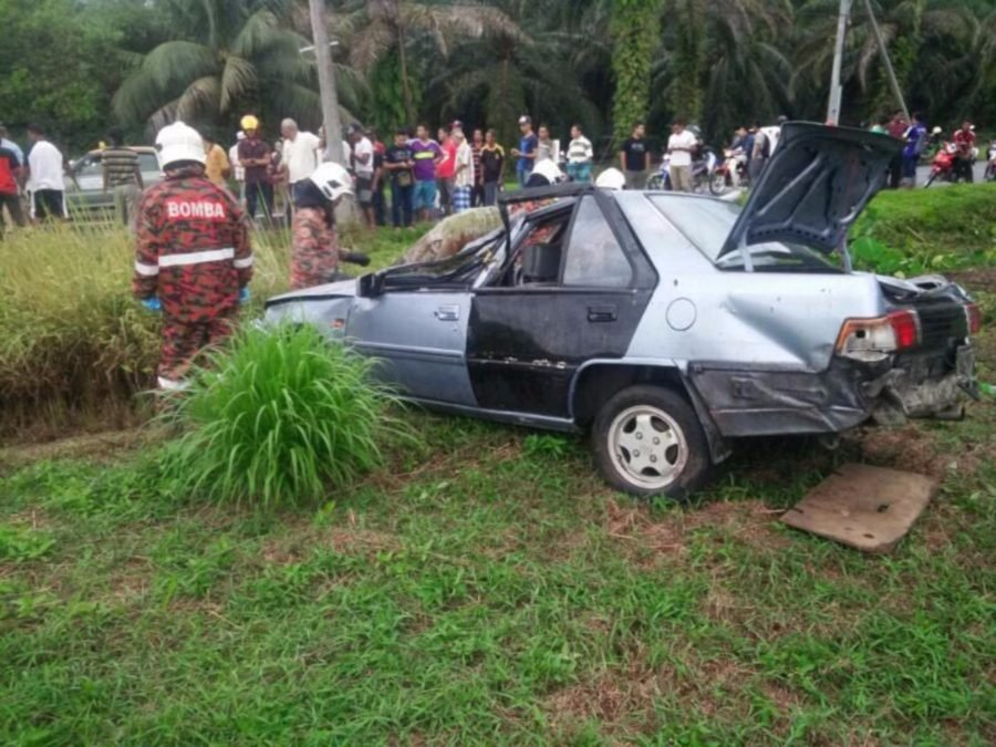 A 20 Year Old Man Died On The Spot And His 50 Year Old Father Seriously  Injured When The Car They Were Traveling In Was Involved In An Accident  Near Taman ...