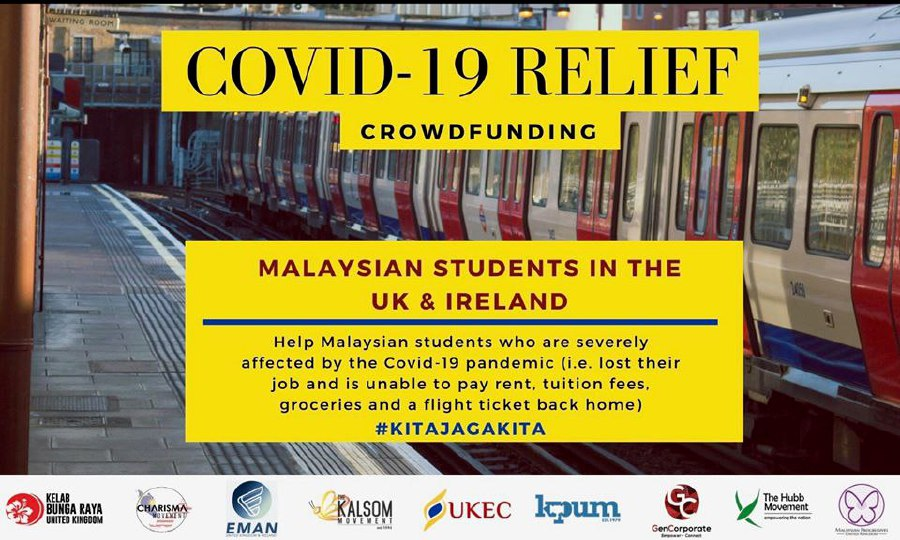 Malaysian students in the United Kingdom and Ireland are pleading for the Malaysian government to take firm and decisive action to ensure their safety while still in the region amid the outbreak.