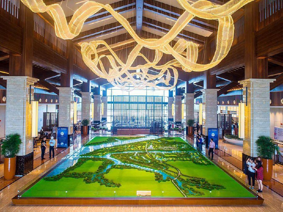 New 5 Star Hotel Golf Resort New Tourism Icons In Forest