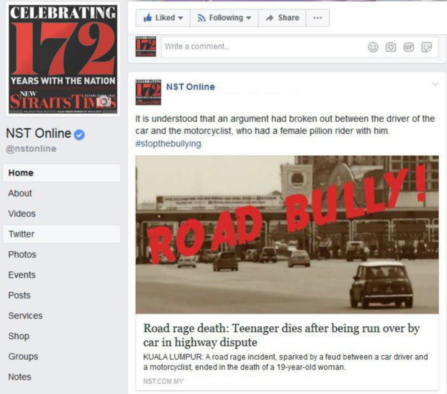 Netizens Vent Anger On Senseless Death Of Teenage Girl On Road Rage