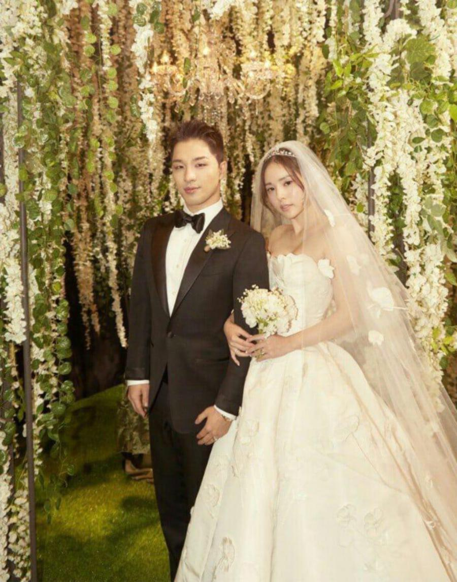 Image result for taeyang and min hyo rin