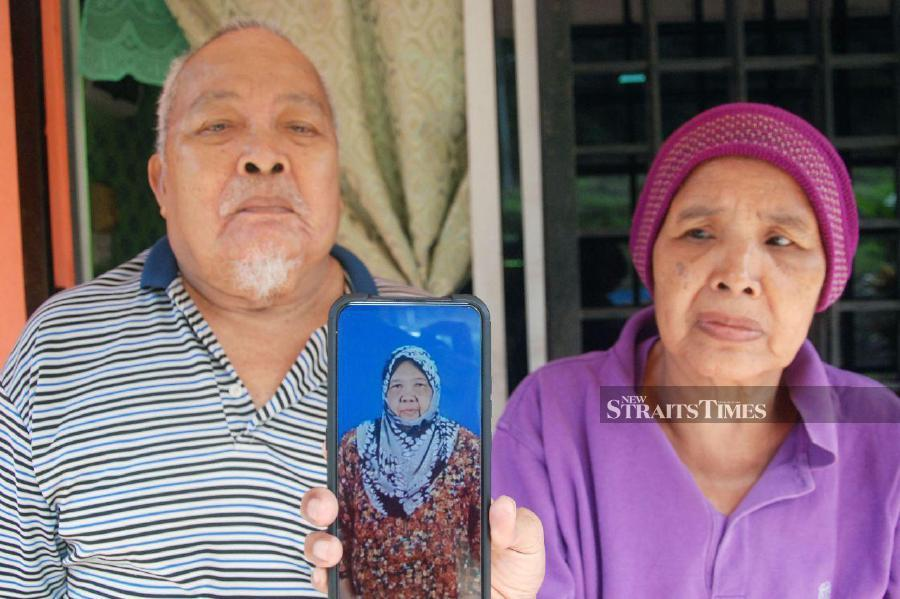 Kalsom said, although she is saddened by the death of her sister, she is thankful that the mystery behind Salminyah's disappearance had been answered, after 15 days.NSTP/Amran Yahya