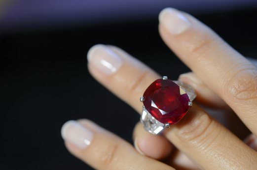 Burmese ruby sells for record USD30m at auction