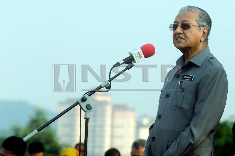 dr m picked as muslim man of the year new straits times malaysia