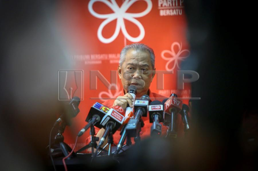 Parti Pribumi Bersatu Malaysia (PPBM) president Tan Sri Muhyiddin Yassin says the party leadership had received several proposals to open up branches in Sabah. -NSTP/MUHD ZAABA ZAKERIA