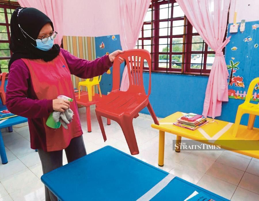 The Malaysian Association of Kindergartens  has voiced  readiness to resume classes for preschoolers after almost three months of inactivity due to the Covid-19 pandemic. - NSTP/FATHIL ASRI