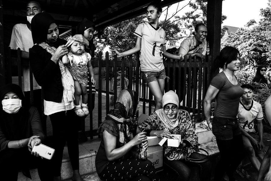 Bugani's World Press Photo winning entry is a picture of the Waria community in Yogyakarta.