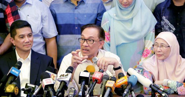 Anwar believes his release from prison is due to efforts and struggles of his supporters