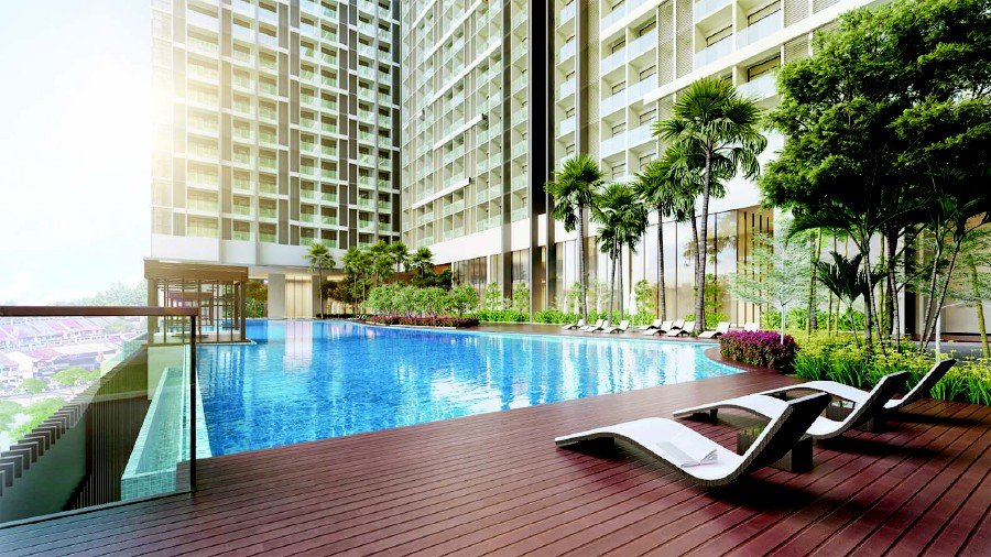 (File pix) About 72 per cent of Dorsett Waterfront Subang units are priced below RM600,000.