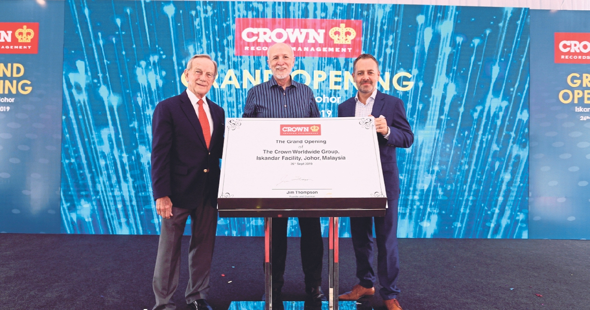 Another world-class Crown Worldwide facility