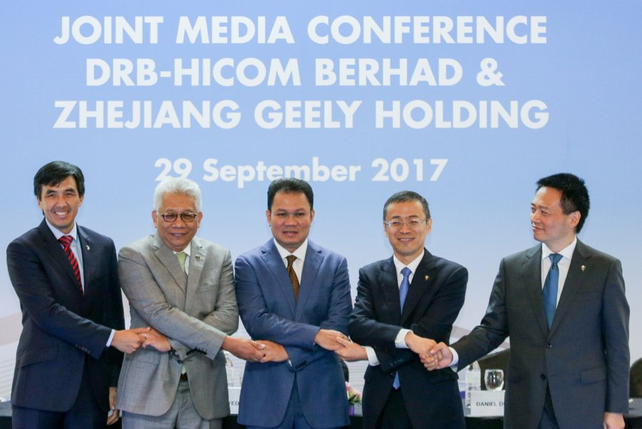 Hicom completes stake sale in Proton for RM460.3m