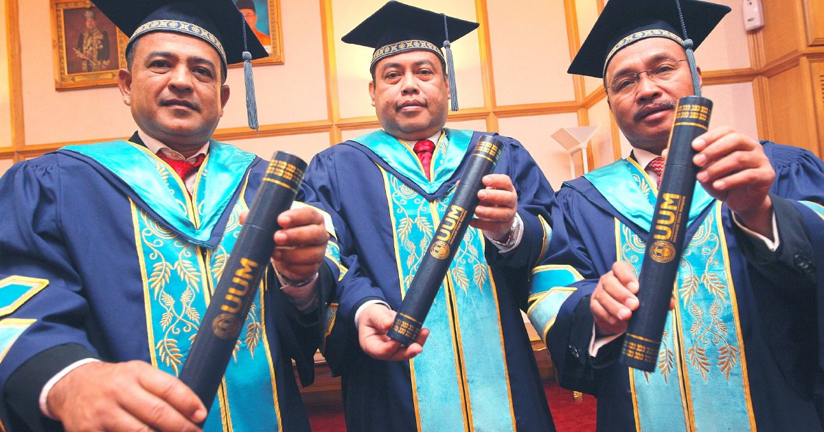 Three Public Figures Awarded Master S Degrees At Uum Convocation