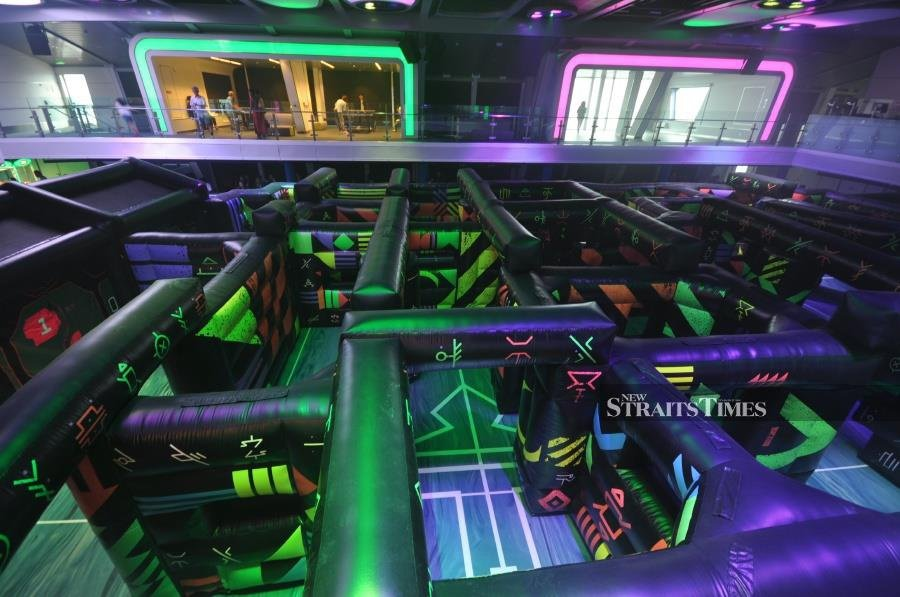 How about a game of Laser Tag.