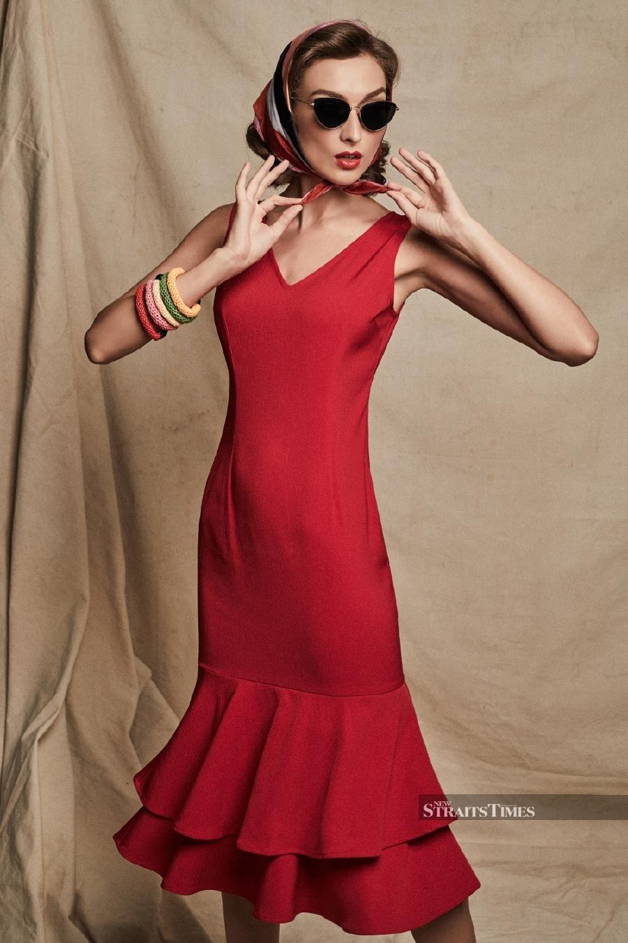 Dress designed by Jiuan Ng.