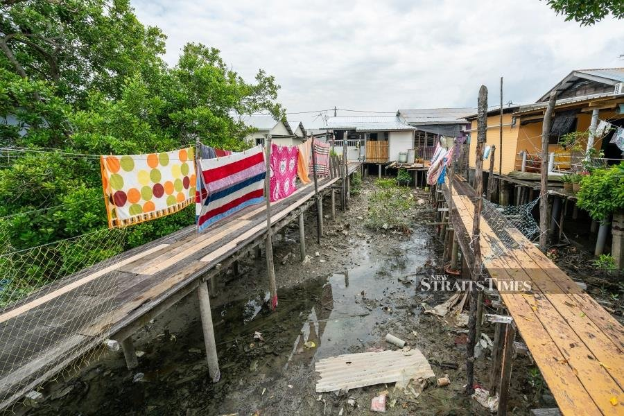 The scourge of plastics can be seen at places like Pulau Ketam where at least 20 per cent of waste gets washed from the mainland to this little fishing enclave.