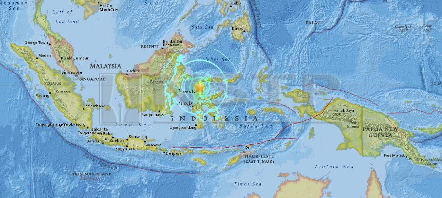 Indonesia Thailand Map.Updated Indonesia Rocked By 7 5 Magnitude Quake Tsunami Warning