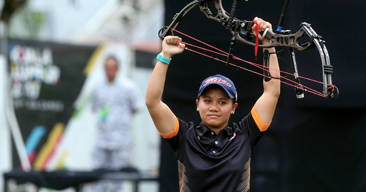 Hard work pays off for Fatin Nurfatehah who claims 2 golds, 1 bronze