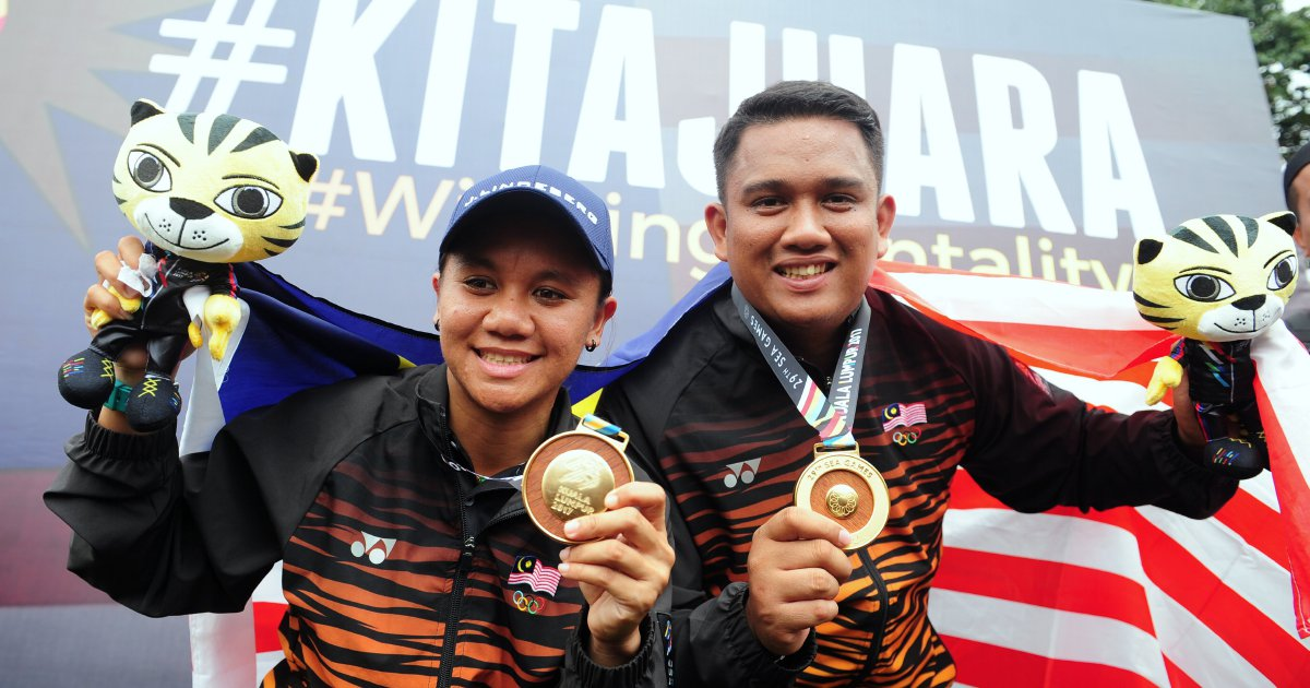 Malaysia lead the pack with 7 golds at KL2017