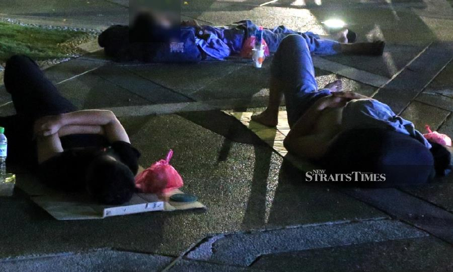 Homelessness can happen to anybody. Poverty in a community is not just governments' problem, its everybody's problem. Immediate help should be given for those who need under the present circumstances. - NSTP/File pic