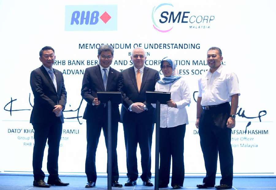 SME Corporation Malaysia - RHB on track to enlarge SME market share