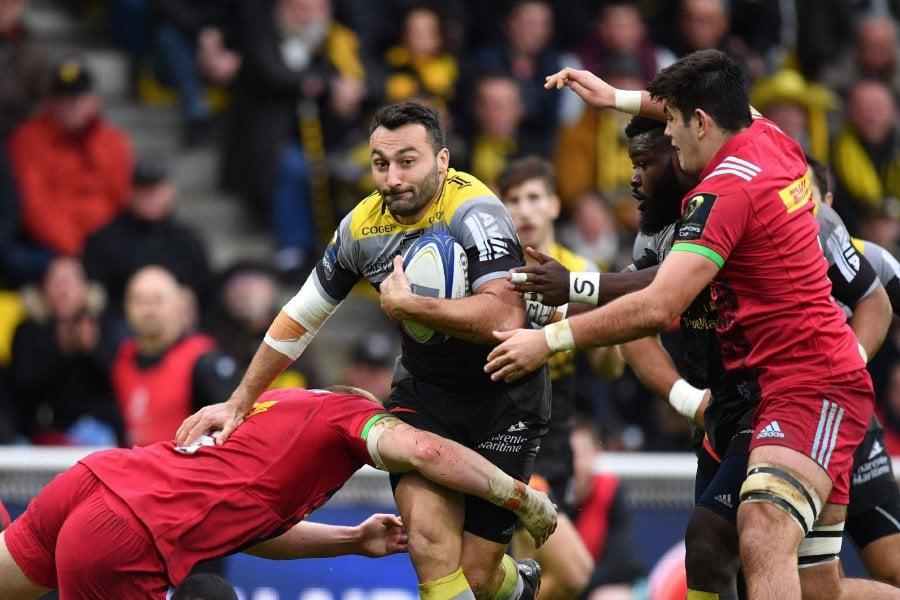 La Rochelle reach quarter-finals, Saracens sneak through