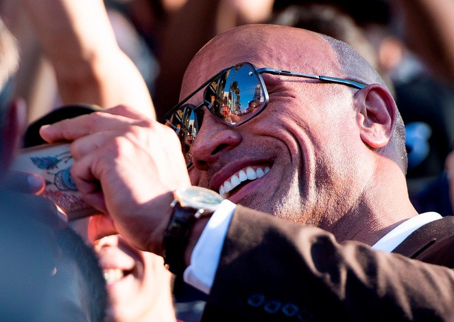 Dwayne Johnson Back Atop World S Best Paid Actor List New