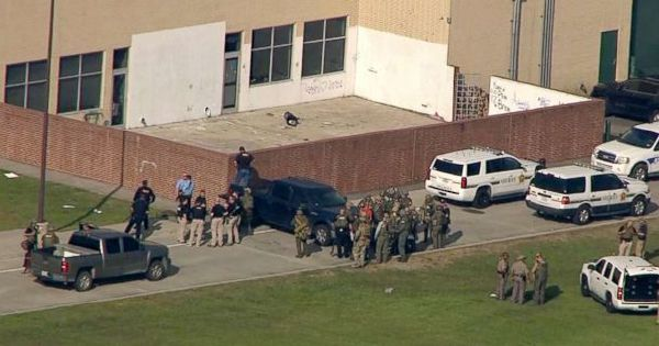 LATEST: At least 8 dead, explosives found in Texas school shooting-sheriff