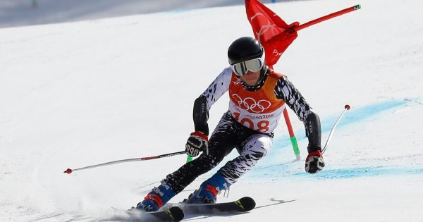 Webb does decently in the giant slalom event