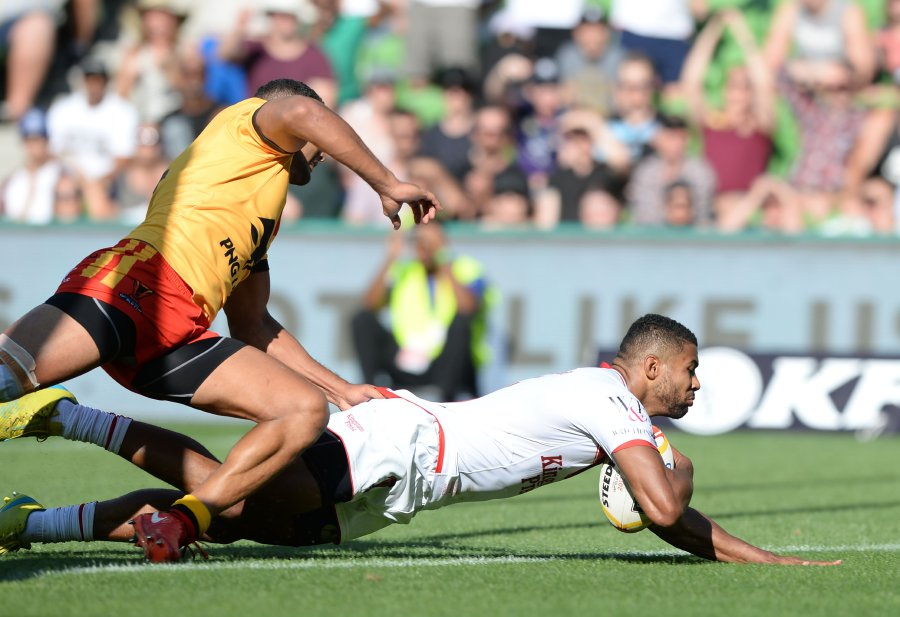 Rugby England Down Png To Set Up Tonga Semi Final New Straits Times Malaysia General Business Sports And Lifestyle News