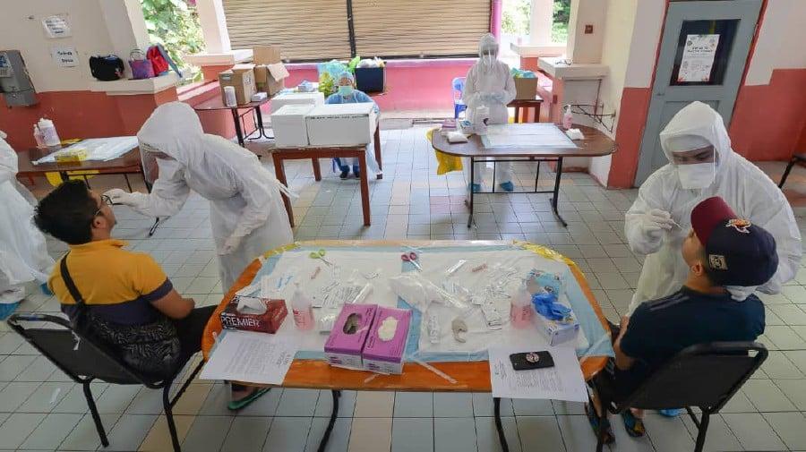 Lonjakan Kes Covid-19, Warga Sabah Yang Kembali Diarah Melakukan Kuarantin Wajib Di Pusat Khas