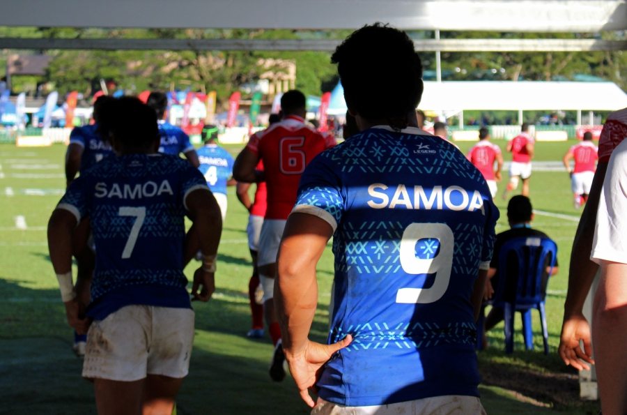 Rugby-Samoa pounce on Tonga's poor discipline to win Pacific