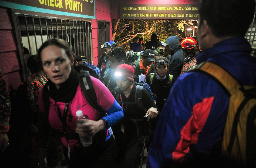 Over 100 Mt Kinabalu climbers rush to safety after quake strikes Sabah