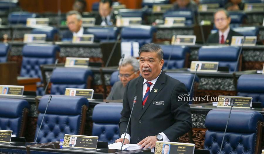 Defence Minister Mohamad Sabu said the policy would serve as a guideline for the sector's development. (NSTP/MUHD ZAABA ZAKERIA)